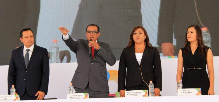 Rinde protesta el Lic. José Carlos Nieto Juárez en Comonfort Guanajuato.