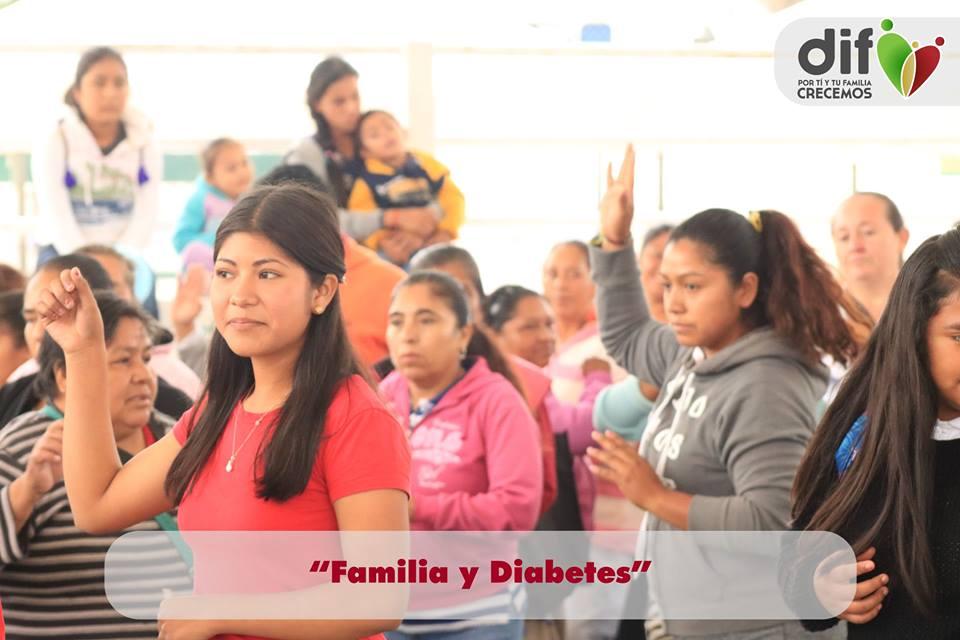 """Inauguración de la campaña """"Diabetes y Familia""""."""