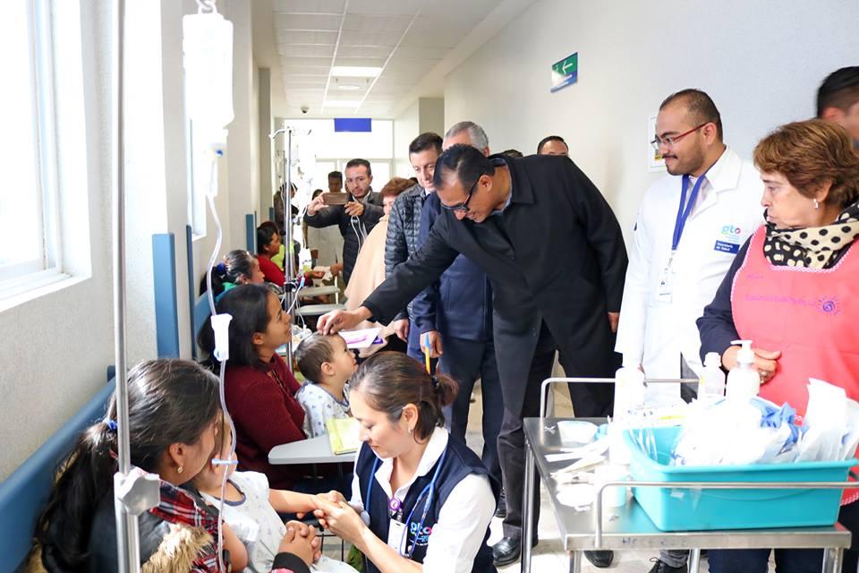 La Secretaria de Salud del Estado de Guanajuato, realizo la entrega de mas de 70 apoyos para cirugías pediátricas