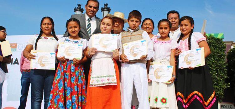 Día Nacional del Libro y reconocimientos a los niños narradores de Lenguas Indígenas
