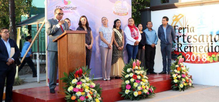 Inauguración de la Feria Artesanal de Los Remedios en su edición 2018