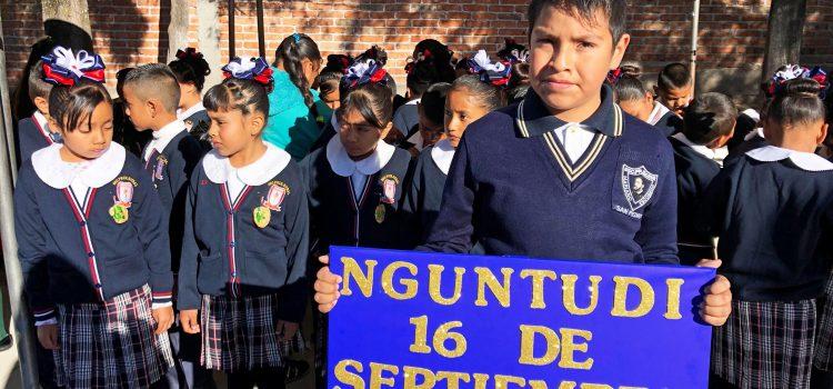 Fomentan de lengua indígena con concurso de himno nacional