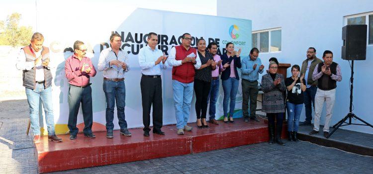Entregan primera etapa de Casa de la Cultura en Escobedo