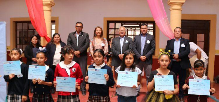 Premian concurso de Cuentacuentos y Oratoria