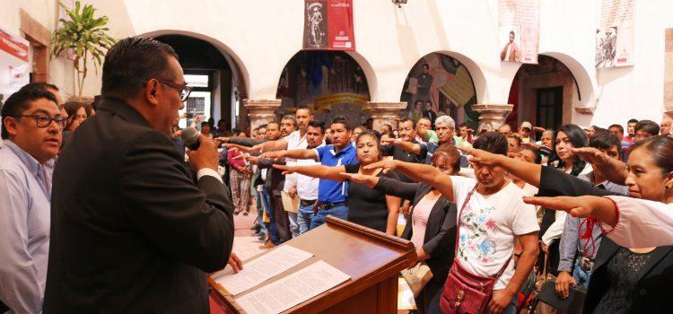 Rinden protesta nuevos delegados y subdelegados