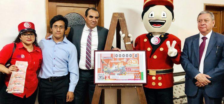 """Develan billete de la Lotería Nacional Comonfort """"Pueblo Mágico"""""""