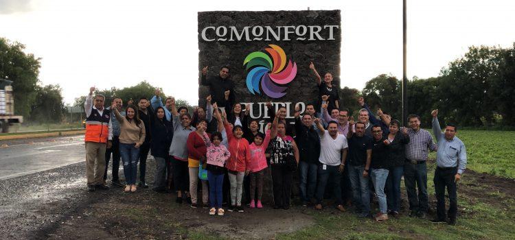 Señalizan Comonfort Pueblo Mágico 2019