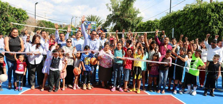 Rehabilita gobierno Canchita de Galeana
