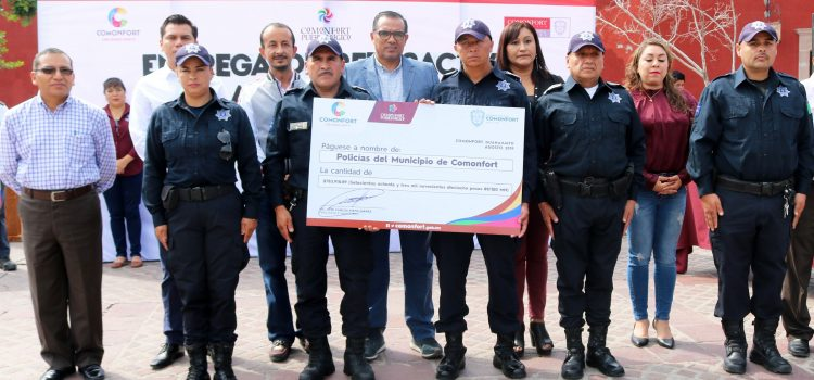 Homologan salarios a policías