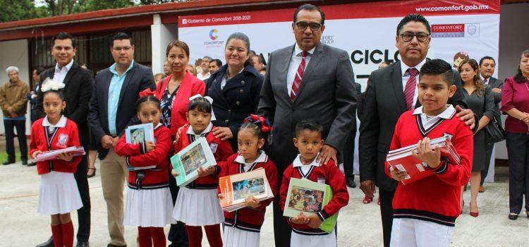 Apoyará gobierno espacios educativos