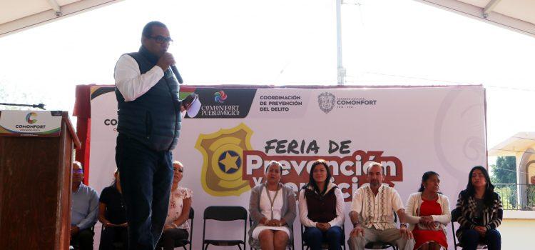 Realizan Feria de Prevención en la colonia Álvaro Obregón