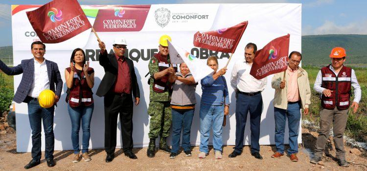 Da inicio construcción de cuartel de la Guardia Nacional