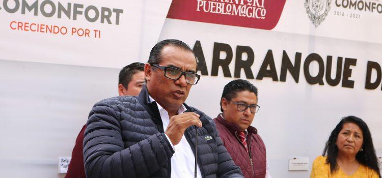 Destina 1.6 millones para calle Jiménez en Neutla