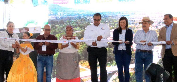 Asisten 15 mil al 7º Festival de la Tortilla Ceremonial