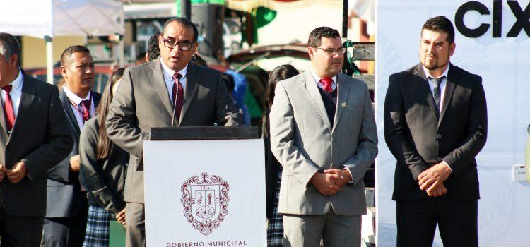 Conmemoran CIX Aniversario de la Revolución Mexicana