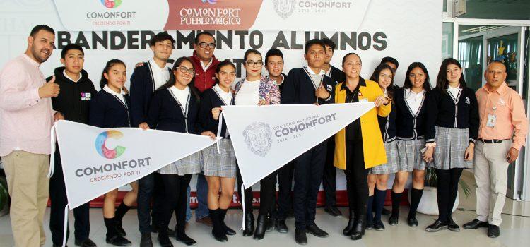 Reconocen participación de alumnos del CECYTE en el extranjero