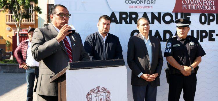 Arranca operativo Guadalupe – Reyes