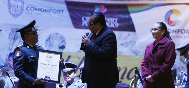 Festeja Comonfort 458 Aniversario de su fundación