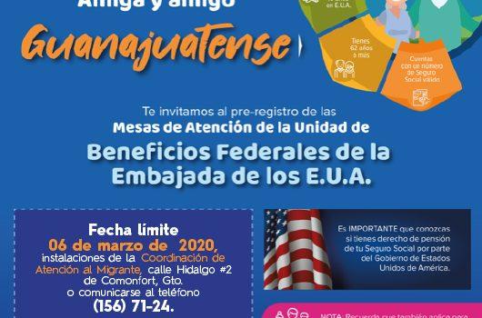 Exhortan a Migrantes a solicitar su pensión