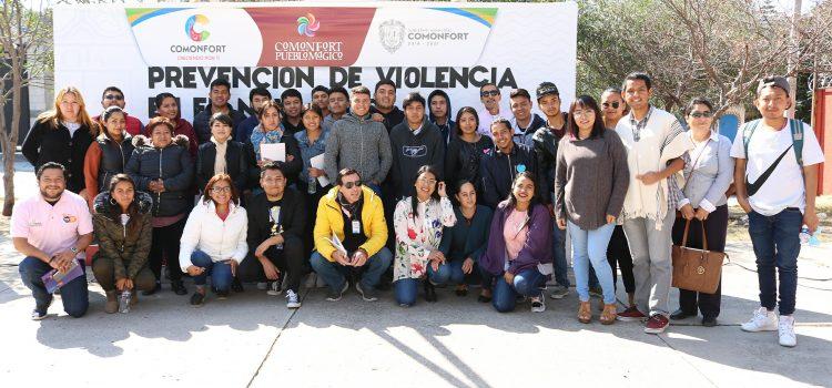 Fomentan la prevención del delito en instituciones educativas