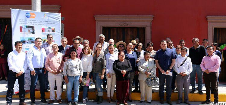 Rescatan arquitectura de calle Melchor Ocampo