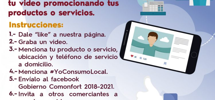 Lanza gobierno campaña #YoConsumoLocal