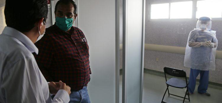 Supervisa Nieto Juárez CAISES y protocolos por COVID-19