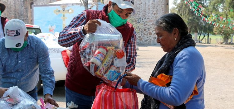 Otorgan 214 apoyos alimentarios en la zona oriente