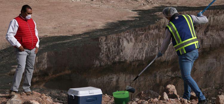 Analizarán agua residual y sedimentos de Minera Adularia