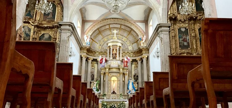 Con limitantes las fiestas de Corpus Christi en Comonfort