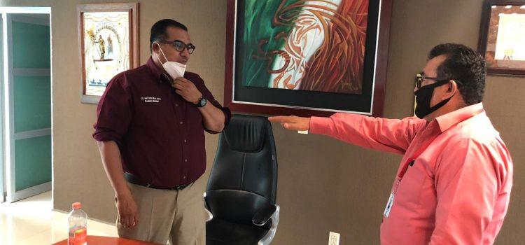 Ratifican a Noel Aguilar como Secretario del Ayuntamiento