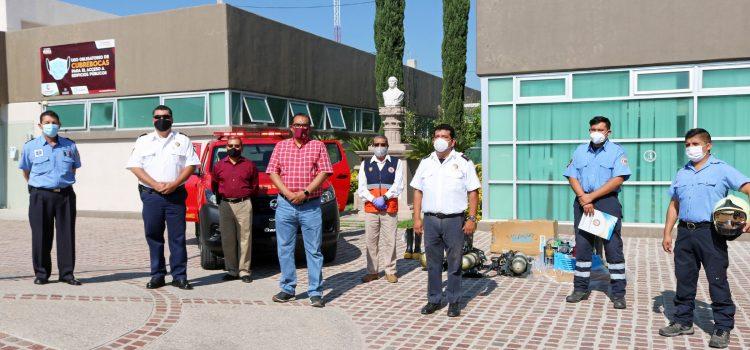Reitera Nieto Juárez, municipalización a Bomberos