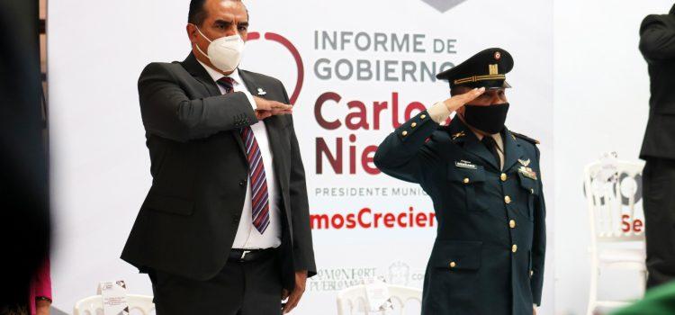 Presenta Carlos Nieto Segundo Informe de Gobierno