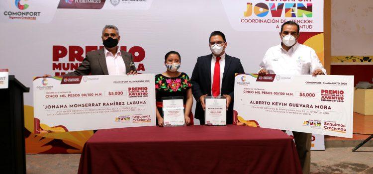 Reconocer trayectoria de jóvenes con premio municipal de la juventud