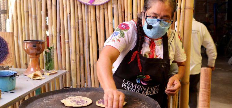 Comparten el fogón en Festival de la Tortilla Ceremonial 2020
