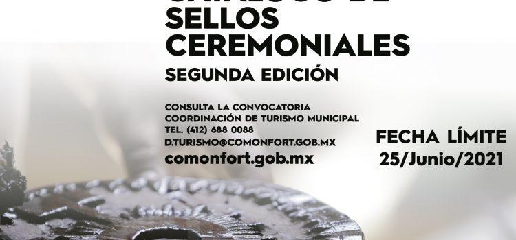 Convocan a la segunda edición del Catálogo de Sellos Ceremoniales