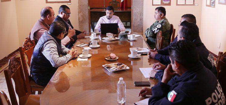 Realizan primera reunión itinerante de seguridad